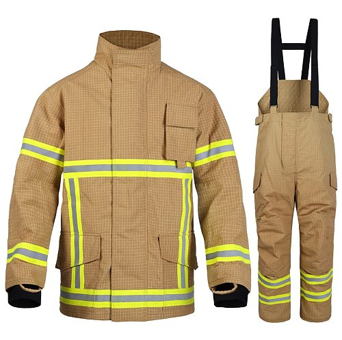 Fire Fighting Gear Firefighter Uniform Fireman Suits Fire Fighting Clothing