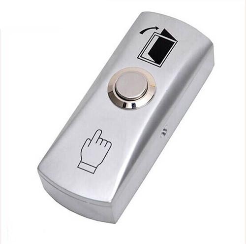 NO COM GATE DOOR Exit Button Exit Switch For Door Access Control System Door Push Exit Door Release Button Switch