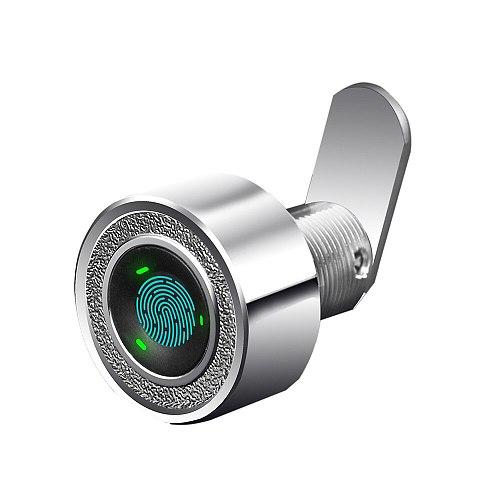 Zinc Alloy Keyless Mini Fingerprint Cabinet Drawer Strongbox Lock Biometrics Electric Lock