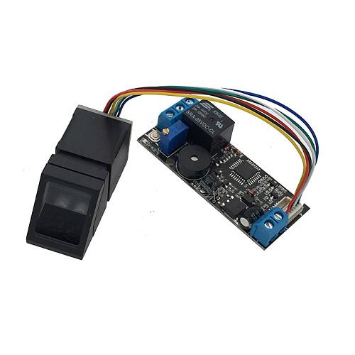 K202+R307 DC12V Low Power Consumption Fingerprint Recognition Access Control System+R307 Optical Fingerprint Sensor