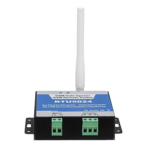 RTU5024 GSM Gate Opener Relay Switch Wireless Remote Control Door Access GSM Door Opener Free Call 850/900/1800/1900MHz