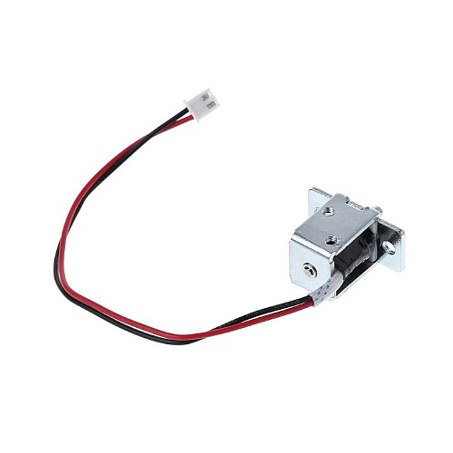High Quality DC 12V 0.5A Mini Electric Magnetic Cabinet Bolt Push-Pull Lock Release Assembly Solenoid Access Control