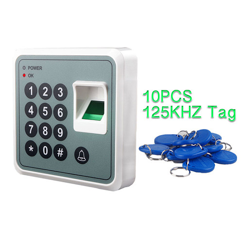 Fingerprint RFID Door Access Controller Once Entry Finger for Biometric Scanner Thumb Identification Fingerprint Reader Access