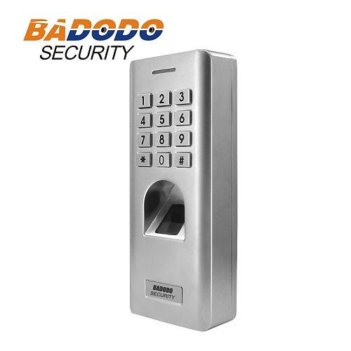 IP66 Outdoor WG26 Fingerprint password keypad access control reader for security door lock system gate opener use