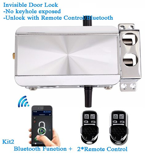 Smart Home Bluetooth Lock Remote Control Wifi ewelink Phone APP Invisible Electric Door lock Keyless Hidden Lock Tuya Smart Life