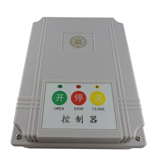 LPSECURITY AC220V Compatible mother controller for sliding gate opener / motor for rail retractable gate /2 transmitters