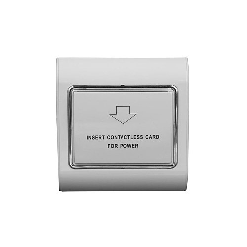 Hotel Energy Saving Switch support high frequency 13.56M card 220V 40A IC card  Power off 15s delay
