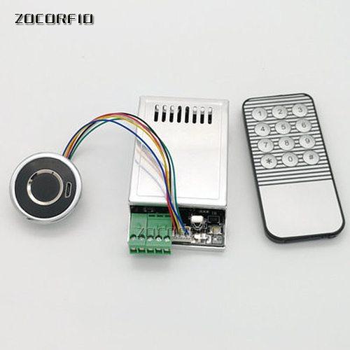 DIY ZC-216 finger reader&access control board Capacitive Fingerprint Access Control Board