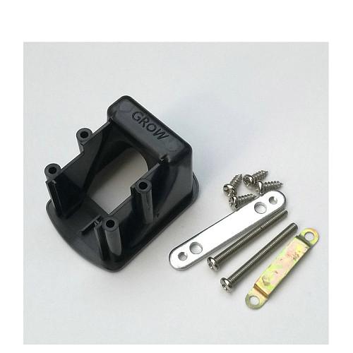 GROW Black Mounting Bracket of R305 or R307 Fingerprint Access Control Module Scanner