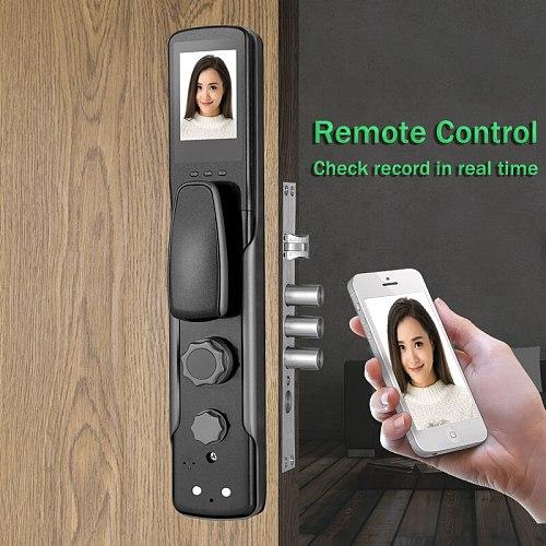 Real Time Capture Fingerprint Door Lock Wifi APP Control FingerPrint Residence Digital Door Lock Remote Control Code Door Lock
