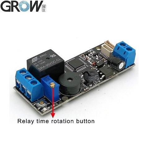 GROW K202 DC12V Low Power Consumption Fingerprint Control Board Switch Fingerprint Access Control System