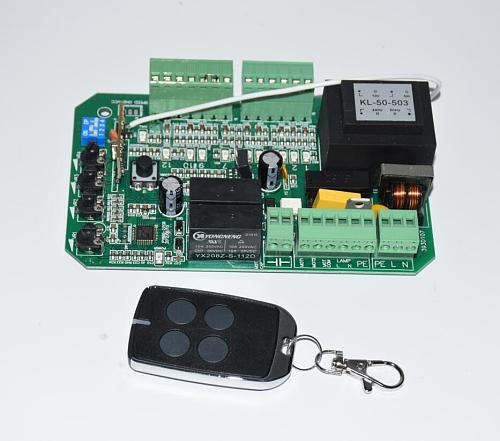 AC110v 220V 2 keyfob circuit board control card mother board for sliding gate opener motor(PY600ac SL600 SL1500 PY800 model)