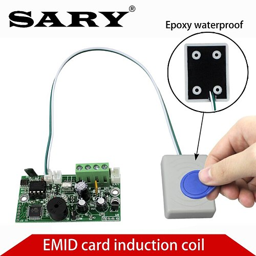 EMID Access Control Board 125KHZ RFID Embedded control board DC12V Normally open control board