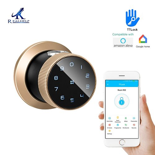 TTLock APP Control FIngerprint Lock Bluetooth APP Access Electronic Biometric Fingerprint Support 5 unlocking method