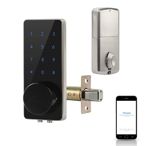 TT Lock Bluetooth Deadbolt TTlock APP Door Lock Smart Card Digital Code Electronic For Home Security Mortise Smart Home