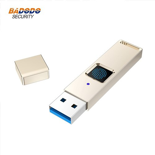 32GB 64GB 128GB USB 3.0 Fingerprint Encrypted USB Flash Drives recognition Pen Drive Security Memory USB Stick support android