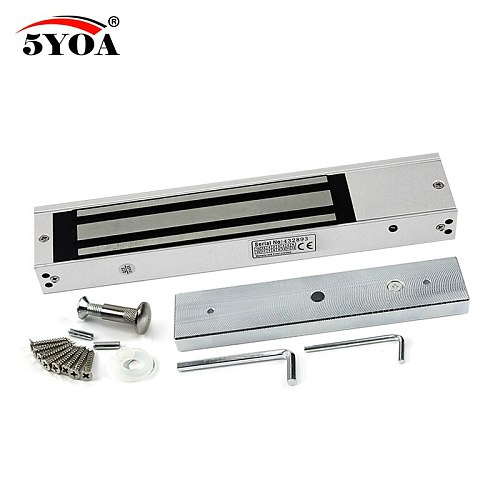 Access Control Electric Magnetic Door Lock 180KG 350lbs 12V Electric Lock Holding Force High Quality