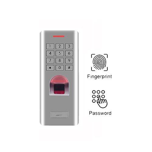IP66 3000 users WG26 Standalone fingerprint keypad access control reader door lock gate opener access control(no RFID function)