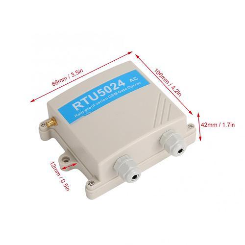 RTU5024 Upgrade GSM Gate Opener Relay Switch Wireless Remote Control Door Opener Quad-Band 850/900/1800/1900MHz