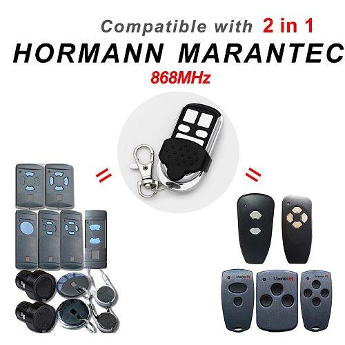 HORMANN 868 HS2 HS4 HSE4 HSM4 HSM2 Marantec Garage Door Opener Digital 302 Remote Control Clone For D384 D382 Handsender 868MHz