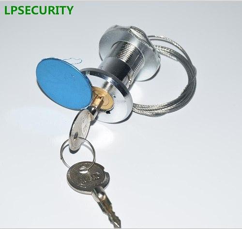 LPSECURITY 35mm to 45mm garage gate door lock rolling door shutter door gate emergency lock with 2 keys cobber lock mechanism