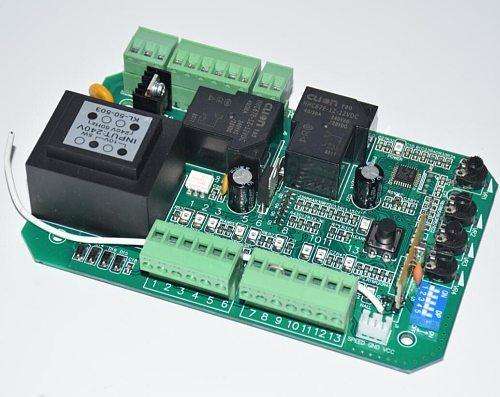 sliding gate opener pcb circuit board controller card  plate for PY600 SL600 Placa para Puertas Correderas Placa de control