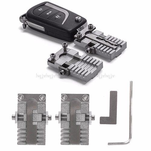 Key Clamping Fixture Duplicating Cutting Machine For Car Key Copy Tool Universal JUL19 Dropship