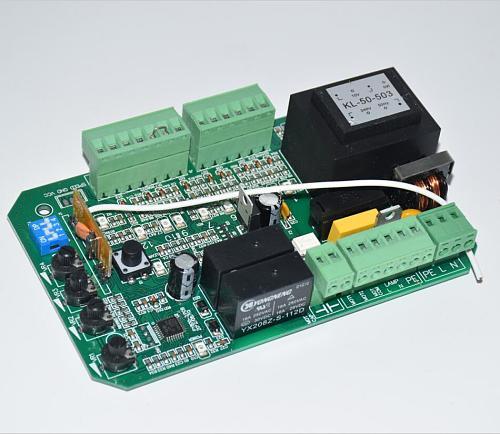 AC110v 220V 4 keyfob circuit board control card mother board for sliding gate opener motor(PY600ac SL600 SL1500 PY800 model)