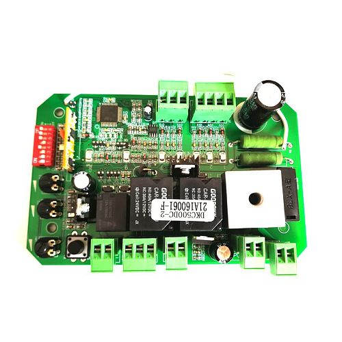 LPSECURITY AUTOMATIC DC SLIDING GATE OPENER 24VDC motor CONTROL Circuit BOARD Card power controller with 2 remote controls