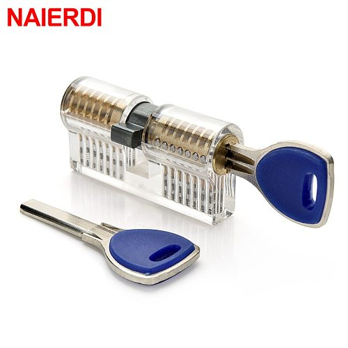 Transparent Practice Lock Pick Visible Training Skill Tools For Locksmith Supplier Tool Pick Sets Hardware