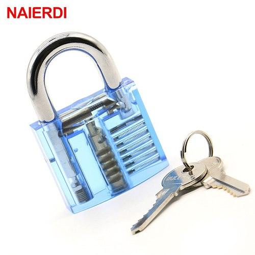 Practice Lock With Broken Key Removing Hooks Lock Kit Locksmith Wrench Row Tension Tool Extractor Set Furniture Hardware