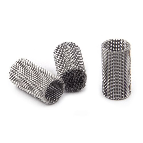 CITALL 5pcs Car Glow Pin Plug Burner Strainer Screen Felts Mesh Stainless Steel For Eberspacher Airtronic Heater 252069100102