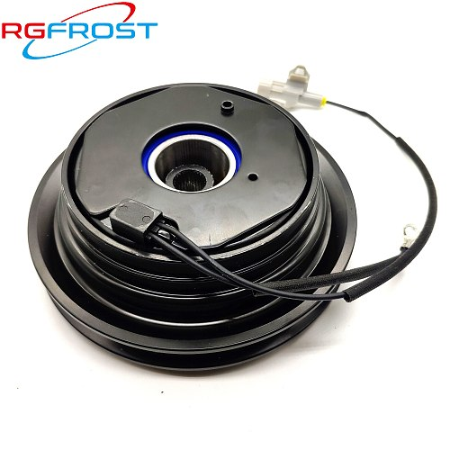 Auto AC Compressor Clutch Auto A/C Compressor Magnetic Clutch Assembly For Audi 80 90 100 200 1.6 1.8 034260805 Pullpy out 143.5