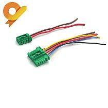 Heater blower Motor Resistor Plug Pigtail Connector For Citroen Peugeot Renault Nissan 27150-ED70A 7701048390 7701207718 6441L2