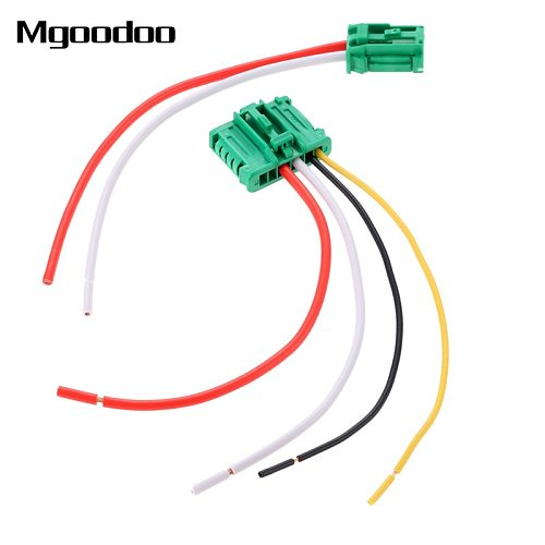 Car Blower Motor Heater Fan Resistor Connector/Wire For Citroen Peugeot Renault Nissan YPGFJCT4 YPGFJCT4 With Wire 6441.L2