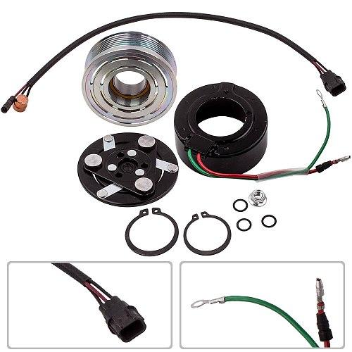 A/C Compressor Clutch Electromagnetic Coil fit For Honda Civic 1.8L 2006-2011