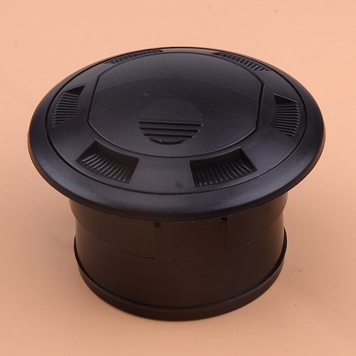 CITALL Black Closeable Rotatable 75mm Air Outlet Fit for Webasto Eberspacher Heater