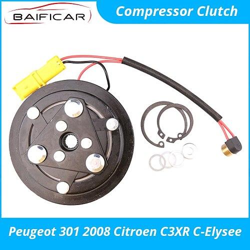 Baificar Brand New Quality Compressor Clutch Air Conditioner AC for Peugeot 301 2008 Citroen C3XR C-Elysee
