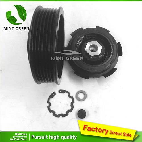 AC A/C Air Conditioning Compressor Electromagnetic Clutch Assembly Pulley hub for Volkswagen AMAROK T5 2.0 7E0820803 7E0820803F