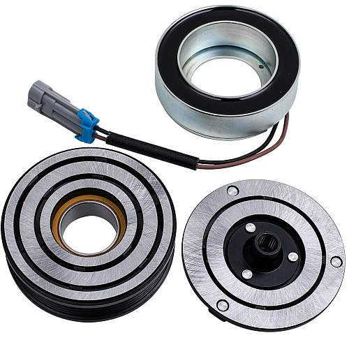 A/C COMPRESSOR CLUTCH PULLEY COUPLING FOR OPEL VAUXHALL Mk. 4/5 ASTRA G H ZAFIRA 09118281 1618329 185427293181006 0165003/0