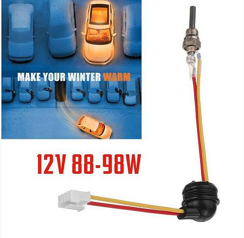 12V 24V 88W-98W Auto Car Truck Boat Parking Heater Ceramic Pin Glow Plug For Air for Diesel Parking Heater Parts