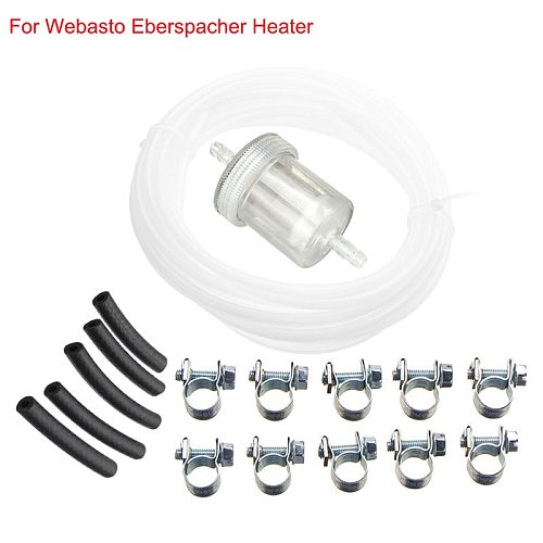 Car Air Parking Heater Tube Replacement Fuel Pipe Line Hose Clip Oil Fuel Filter 89031118 For Webasto Eberspacher Diesel Heater
