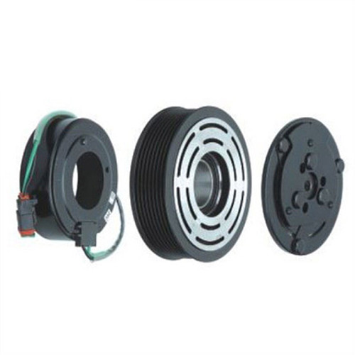 8pk 119mm BRAND NEW Auto A/C  Compressor Electromagnetic Clutch / compressor pulley / compressor coil / Clutch Kit for SCANIA