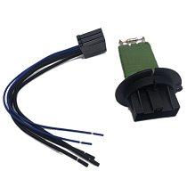 For Peugeot 206 307 Citroen C3 Xsara Blower/Heater Motor Resistor+Wiring Line 6450JP 6445ZL 6445KL New Arrival