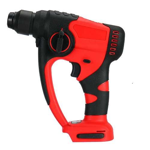 1200W Brushless Cordless Electric Hammer Drill Household Demolition Hammer Power DIY Tool Impact Drill for 18V Makita Battery