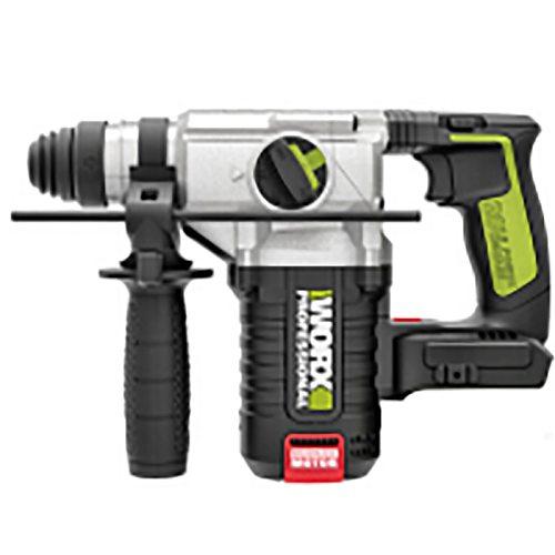 WORX WU388 20V cordless brushless /Rotary hammer power tools, drill concrete/brick/wood,industry/professional/Impulse hammer