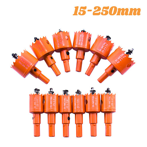 15-200mm M42 Bi-Metal Hole Saw Woodworking Drill Bits for Aluminum Iron Wood Stainless Steel Cutter Opener Tools