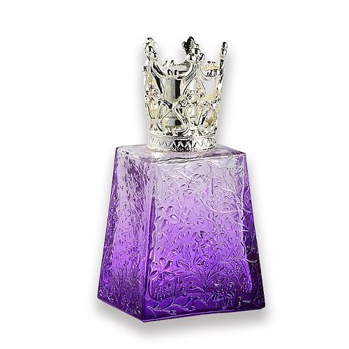 Feminine Wedding Engraved Catalytic Glass Fragrance Lamp for Home Decor 100ml 100g FU0033 Dia70mmx100mm