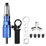 Electric Rivet Gun 2.4mm-4.8mm rivet nut gun drill adapter Cordless riveting tool Insert Nut Pull Rivet Tool(Free shipping)