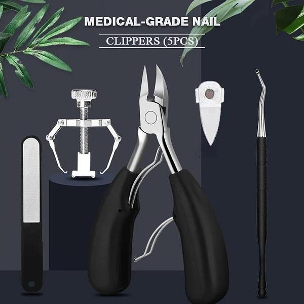 5pcs Paronychia nail scissors tool set,Medical-Grade Nail Clippers,(Free Shipping)In stock